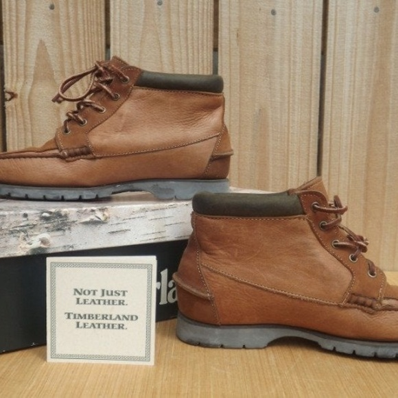 Size 8.5 Timberland Karrie Chukka Leather Boots NWT